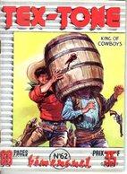 TEX TONE - N° 62 - NOVEMBRE 1959 - EDITEUR IMPERIA - SUPERBE ETAT COMME NEUF - WESTERN COW BOY INDIENS - - Petit Format