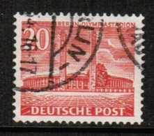 GERMANY---BERLIN  Scott # 9N 102  VF USED (Stamp Scan # 463) - Used Stamps