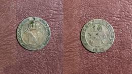 FRANCE - 10 CENT Napoléon I-  1809 A - D. 10 Centimes
