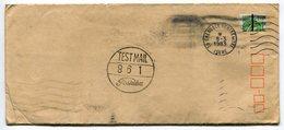 RC 11711 FRANCE GANDON TEST MAIL TOSHIBA LETTRE DE GRENOBLE CENTRE EN 1983 - Marcophilie (Lettres)