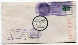 RC 11712 FRANCE GANDON TEST MAIL TOSHIBA LETTRE DE GRENOBLE CENTRE EN 1983 - Marcophilie (Lettres)