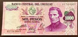 URUGUAY P52 1000  PESOS ND 1974 UNC - Uruguay