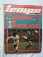 1978 TEMPO YUGOSLAVIA SERBIA SPORT FOOTBALL MAGAZINE NEWSPAPERS BOXING Mate Parlov Vs Marvin JohnsonTITO BOROTA  PETAR - Deportes