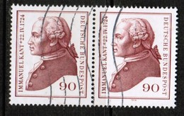 GERMANY  Scott # 1144  VF USED PAIR (Stamp Scan # 463) - [7] Federal Republic