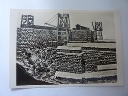 """Cartolina """"MOSTRA AUGUSTEA DELLA ROMANITA'  1937 / 1938  -  RICOSTRUZIONE OPERE BELLICHE ASSEDIO AVARICUM"""" - Mostre, Esposizioni"""
