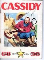 CASSIDY - N° 148 - DECEMBRE 1958 - EDITEUR IMPERIA - TRES BON ETAT - WESTERN COW BOY INDIENS - - Petit Format
