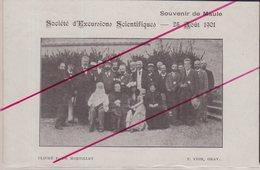Souvenir De Maule . Société D' Excursions Scientifiques . 26 Mai 1901 . - Maule