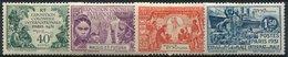 Wallis, N° 066 à N° 069* Y Et T, 66 / 69 - Wallis-Et-Futuna