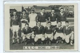 Mons RAEC Equipe 1948 / 1949  Stade De Football - Mons