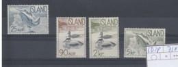 Island Michel Cat.No.  Mnh/** 335/338 - 1944-... Republik