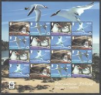 F696 2011 ASCENSION ISLAND WWF FAUNA BIRDS RED-BILLED TROPICBIRD !!! MICHEL 30 EURO !!! 1SH MNH - W.W.F.