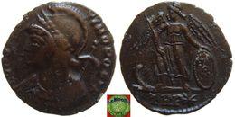 Roman Empire - AE Follis Of Constantine The Great (306 - 337 AD), CONSTANTINOPOLIS - 7. Der Christlischen Kaiser (307 / 363)