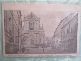 Wilna Ostrabramakirche . Cachet Censure Mulhouse - Lituanie