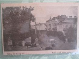 Wilna  St Georges Street . Tramway - Lituanie