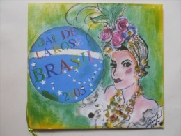 "Programme Du Bal De La Rose ""Brasil"" à Monaco En Mars 2005 Illustration Karl Lagerfeld - Programas"