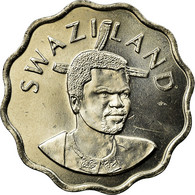 Monnaie, Swaziland, King Msawati III, 5 Cents, 2002, British Royal Mint, SUP - Swaziland