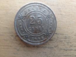 Belize  25  Cents  1994  Km 36 - Belize