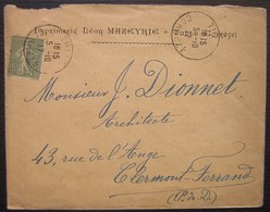 Tulle (Corrèze) 1917 Imprimerie Léon Mazeyrie - 1877-1920: Période Semi Moderne
