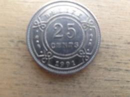 Belize  25  Cents  1991  Km 36 - Belize