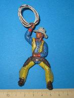 COWBOY   SOLDATINO VINTAGE - Small Figures