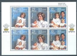 NEW ZEALAND - MNH/** - 1985 - HEALTH LADY DI  - Yv Bloc 52 Mi 939-941 SG MS1375 Sc B123a  - Lot 19061 - Blocks & Sheetlets