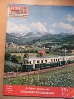 Vie Du Rail 826 1961 Bodensee Toggenburg Viaduc De Dijon Trouville Deauville  Musée De Utrecht Film Jour Le Plus Long - Trains