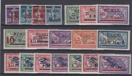 MEMEL 1922:  Lot De Timbres Neufs ** Et Neufs *, Bonne Cote TB - Ongebruikt