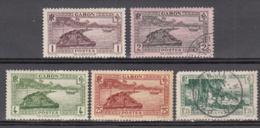 Gabon 125 à 127 + 132 + 141A * Sauf 126 Et 141A Obl. - Ongebruikt