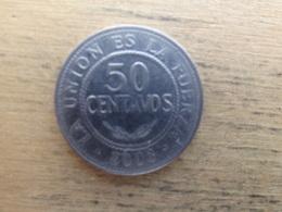 Bolivie  50 Centavos  2008  Km 204 - Bolivia