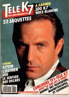 Tele K7 N°393 Kevin Costner  +++TBE+++ PORT GRATUIT - Fernsehen