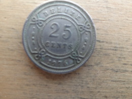 Belize  25  Cents  1976  Km 36 - Belize