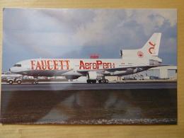 FAUCETT  AEROPERU   TRISTARD   OB 1555 - 1946-....: Moderne