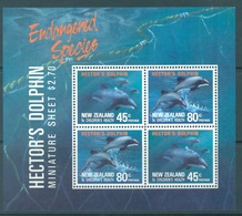NEW ZEALAND - MNH/** - 1991 - HEALTH DOLPHIN - Yv Bloc 78 Mi Bl 28 SG MS1622 Sc B140a  - Lot 19063 - Blocs-feuillets