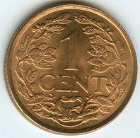 Antilles Neérlandaises Netherlands Antilles 1 Cent 1963 UNC KM 1 - Antilles Neérlandaises