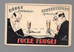 Petit Carnet Publicitaire BARDINET  SUCRE FRUGES  (PPP17206) - Publicités
