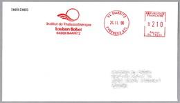 INSTITUTO DE TALASOTERAPIA LOUISSON BOBET - Institute Of Thalassotherapy. Biarritz 1990 - Termalismo