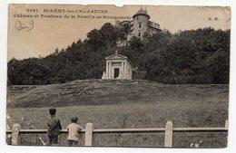 SAINT REMY LES CHEVREUSE--Chateau Et Tombeau De La Famille De Montgomery (animée).....à Saisir - St.-Rémy-lès-Chevreuse