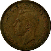 Monnaie, Australie, George VI, Penny, 1943, TB+, Bronze, KM:36 - Penny