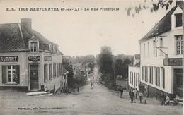 Neufchatel Hardelot La Rue Principale - France
