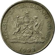 Monnaie, TRINIDAD & TOBAGO, 25 Cents, 1993, TTB, Copper-nickel, KM:32 - Trinité & Tobago