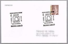 Denominacion De Origen ALCACHOFA DE BENICARLO - ARTICHOKE. Benicarlo, Castellon, 1995 - Alimentación