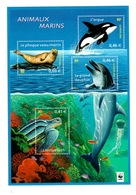 YV BF 48 N** Animaux Marins - Prix = Faciale - Mint/Hinged