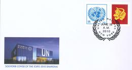 Schanghai Shanghai Löwe Lion - New-York - Siège De L'ONU