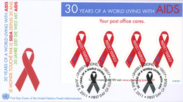 Protect Yourself Aids - New-York - Siège De L'ONU