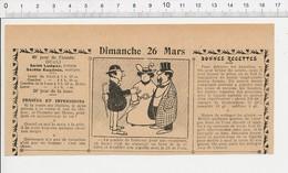 2 Scans Humour Comble De La Couturière Métier / Ecole écolier Cancre Généalogie Latrique 216-E2 - Vieux Papiers