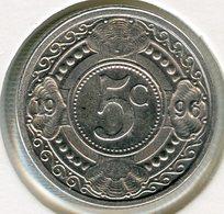 Antilles Neérlandaises Netherlands Antilles 5 Cents 1996 UNC KM 33 - Antillen (Niederländische)