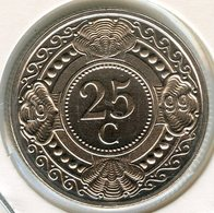 Antilles Neérlandaises Netherlands Antilles 25 Cents 1999 UNC KM 35 - Antillen (Niederländische)
