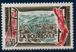 """FRV N°YT 1256  Variété """"LA BOURBOUIF""""    **MNH - Variétés: 1960-69 Neufs"""
