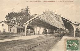 Cpa Castelsarrasin La Gare - Castelsarrasin