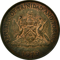Monnaie, TRINIDAD & TOBAGO, 5 Cents, 1979, TTB, Bronze, KM:30 - Trinité & Tobago